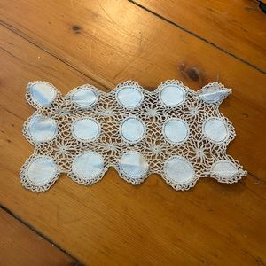 Vintage Crochet Boho Table Covering